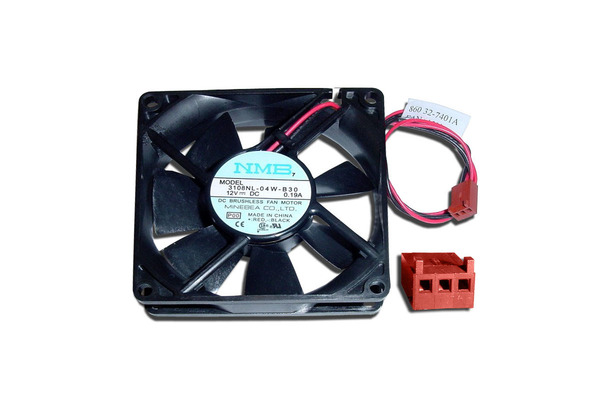 "FAN, 3.15"" X 3.15"" 12VDC STACK COVER (POST 2000)"