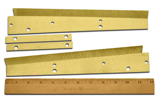 WIPER, Y-AXIS BRASS BLADE (VF-0/1/2 POST 1/1995)