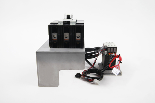 BREAKER, MAIN ASSEMBLY 40A 240V W/ ADAPTER PLATE